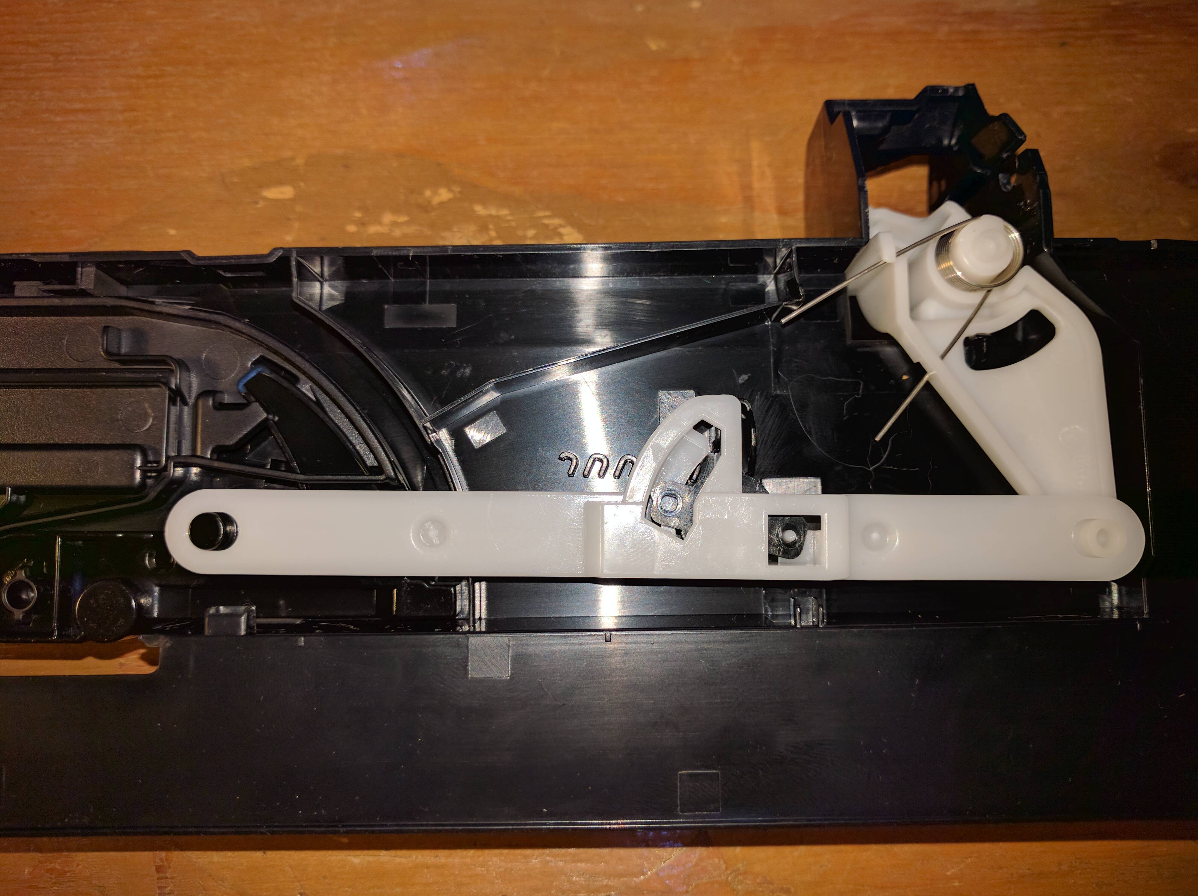 How to remove output tray (front door) on MX922? - Canon ...