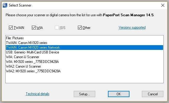 Can a Pixma MX-922 scan wirelessly? - Canon Community