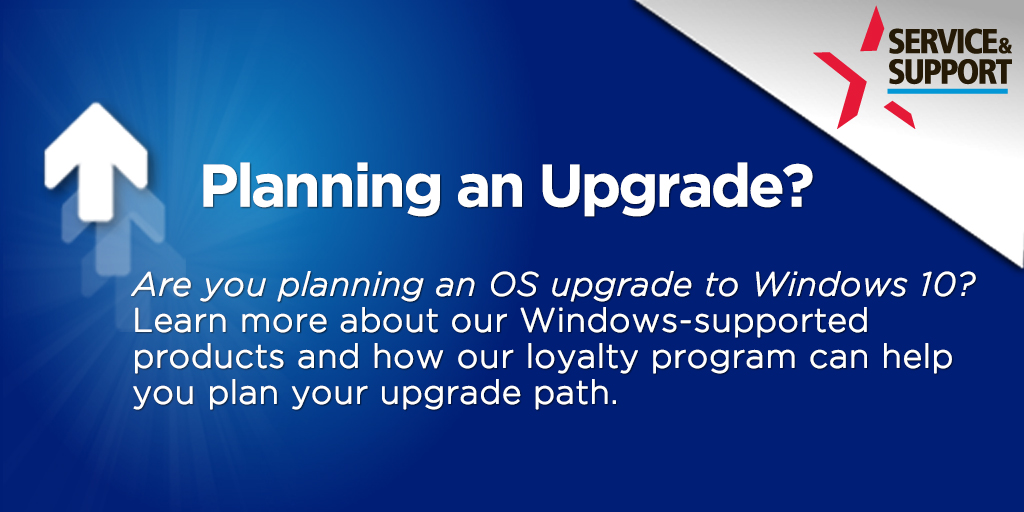 Planning an upgrade?