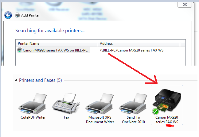 Wireless not working on 2nd MX922 printer - Canon Community