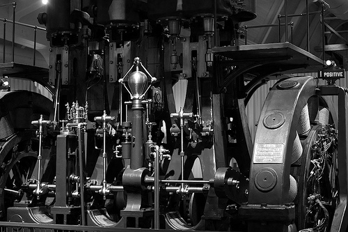 Generator (Green Filter B&W Conversion) at Henry Ford Museum
