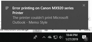 CANON MX922 always errors on first print attempt doesn't warm it up.jpg
