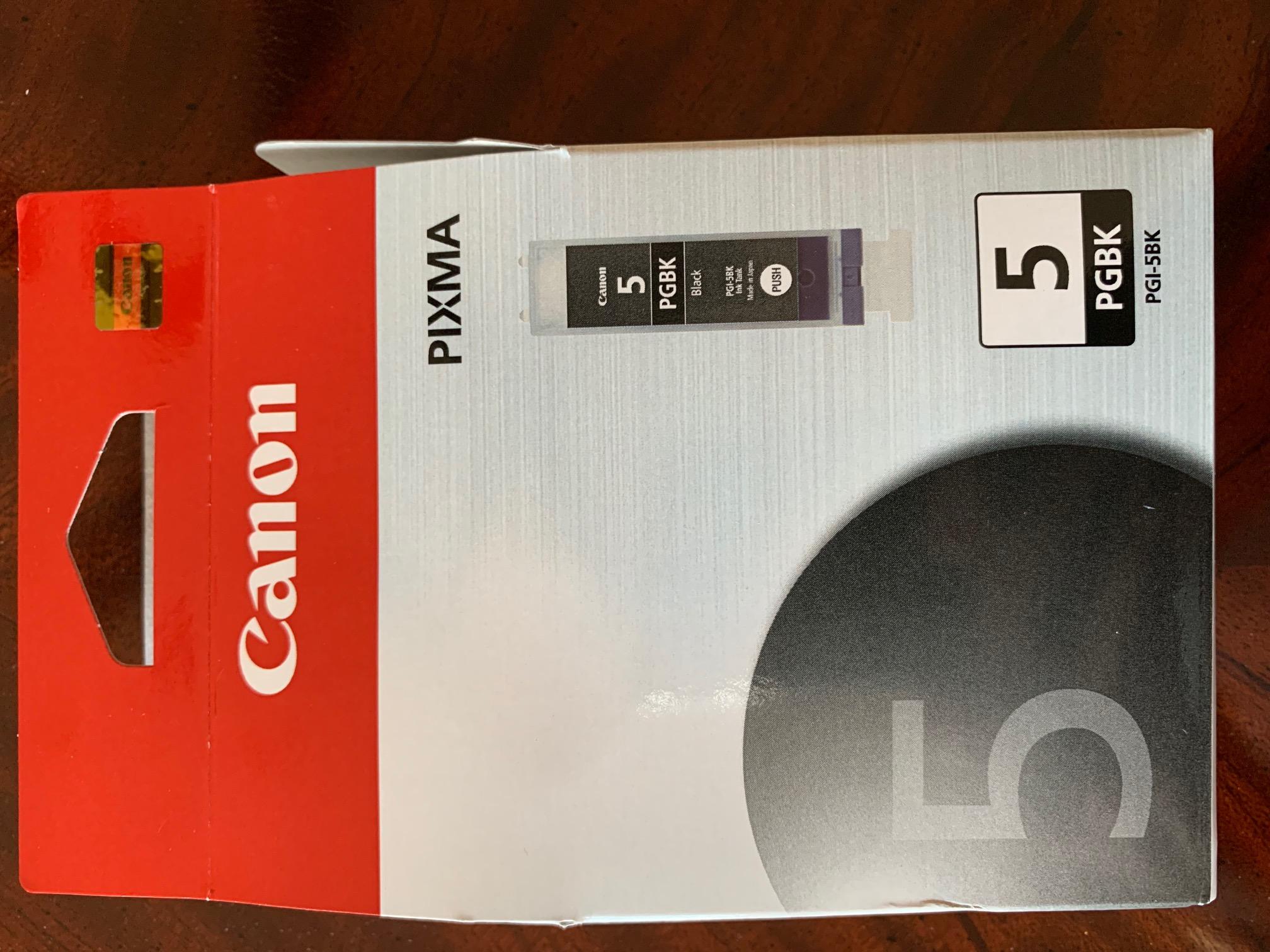 Canon 5 PGBK Cartridge-front.jpg