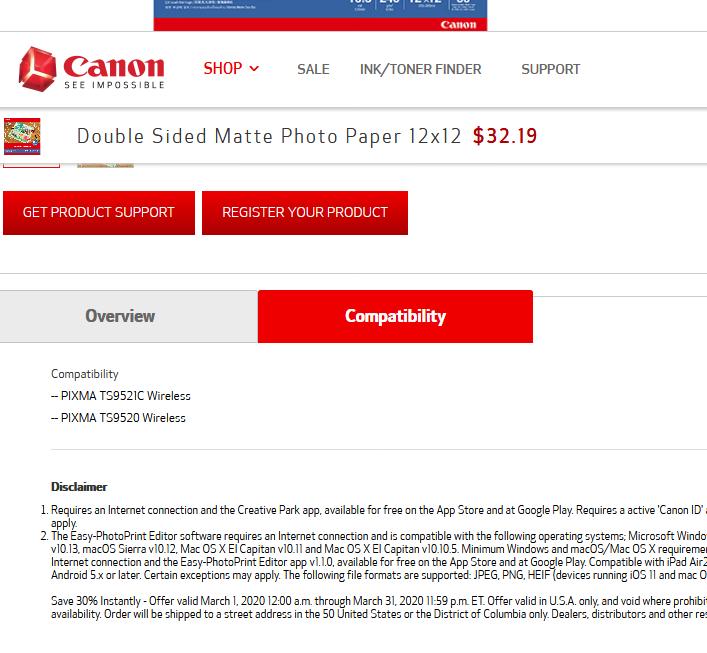 Screenshot_2020-03-04 Canon Double Sided Matte Photo Paper 12x12 Canon Online Store Canon Online Store.png