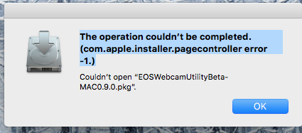 The operation couldn't be completed. (com.apple.installer.pagecontroller error -1.).png