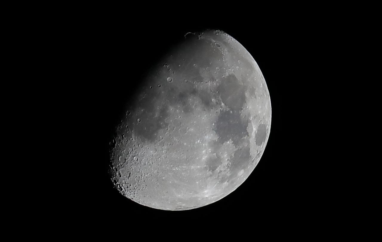 Moon 3/4 Illuminated