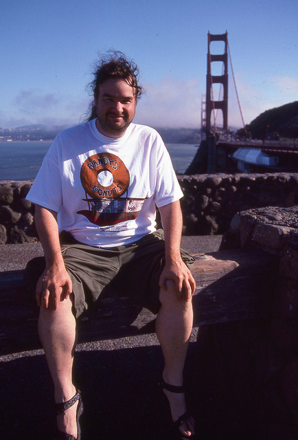Now Me at the Golden Gate