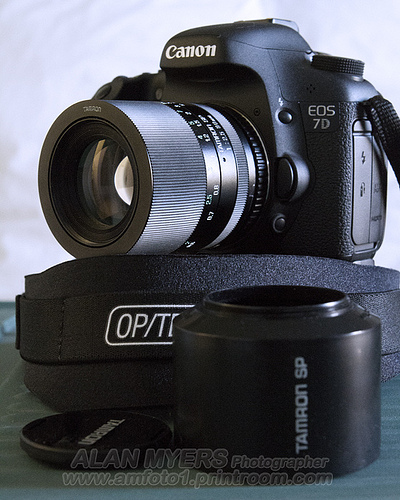 Tamron SP 90mm Adaptall on 7D