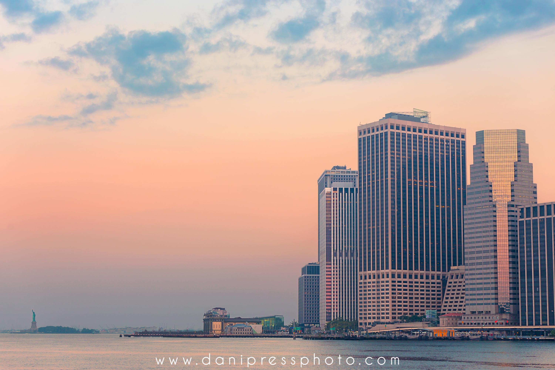 New York Harbor Sunrise