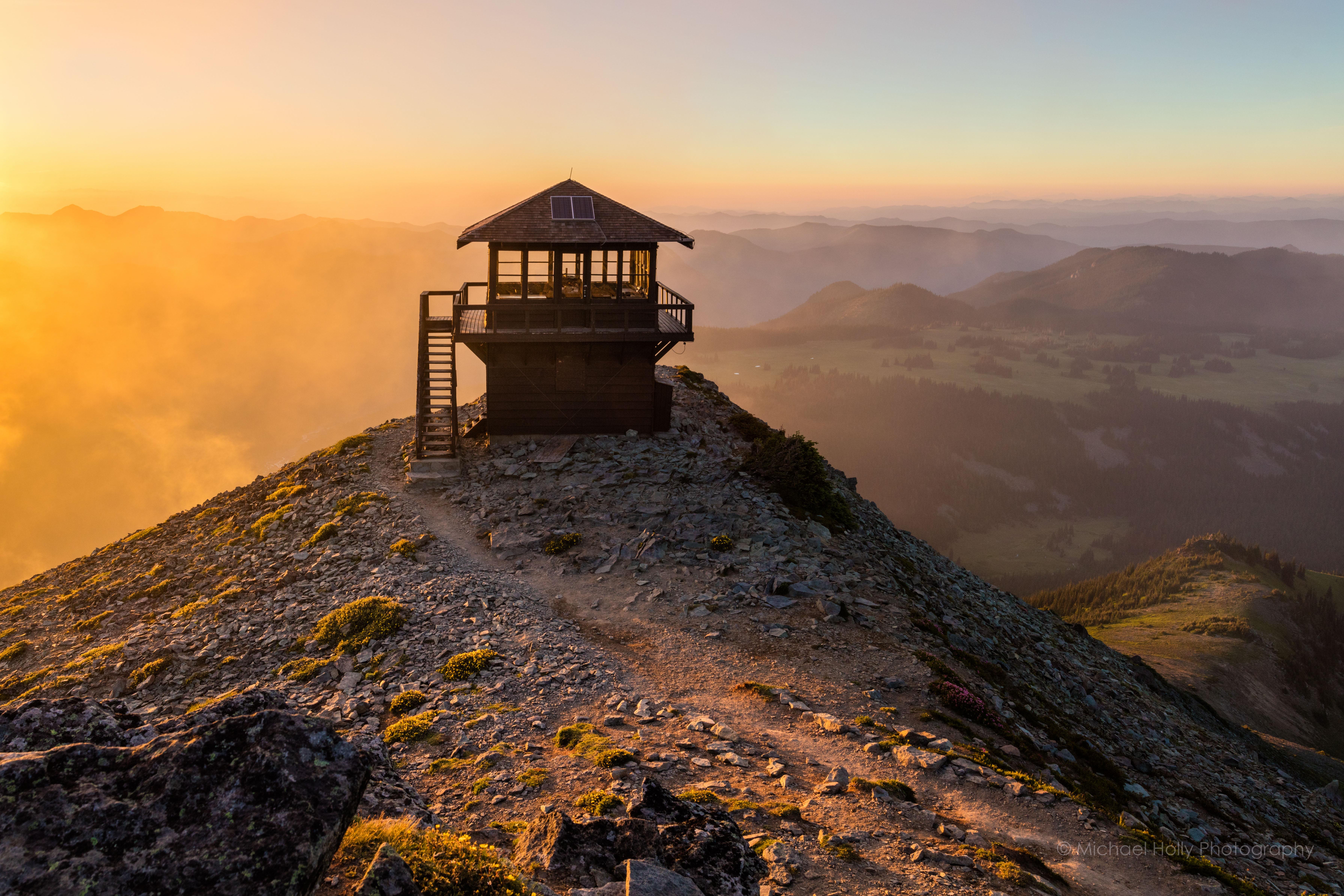Mount Rainier Fremont Lookout Trail