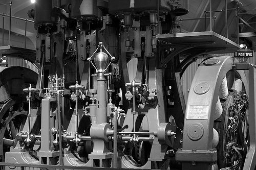 Generator (Straight B&W Conversion) at Henry Ford Museum