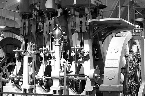 Generator (Red Filter B&W Conversion) at Henry Ford Museum