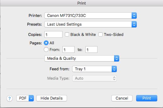 Printer/Multifunction Support topics