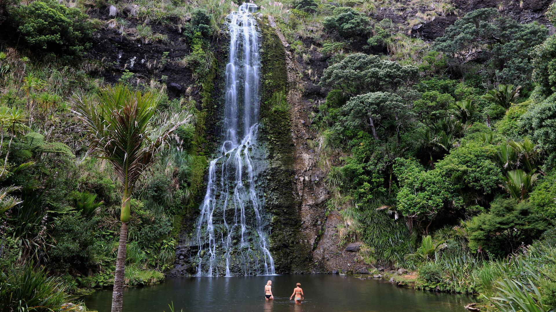 NZ Auckland Piha KareKare Falls LoRes.jpg