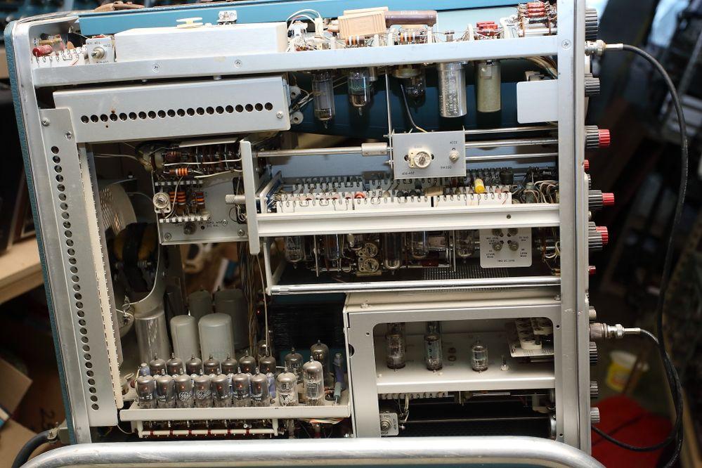 Tektronix 555 inside.JPG