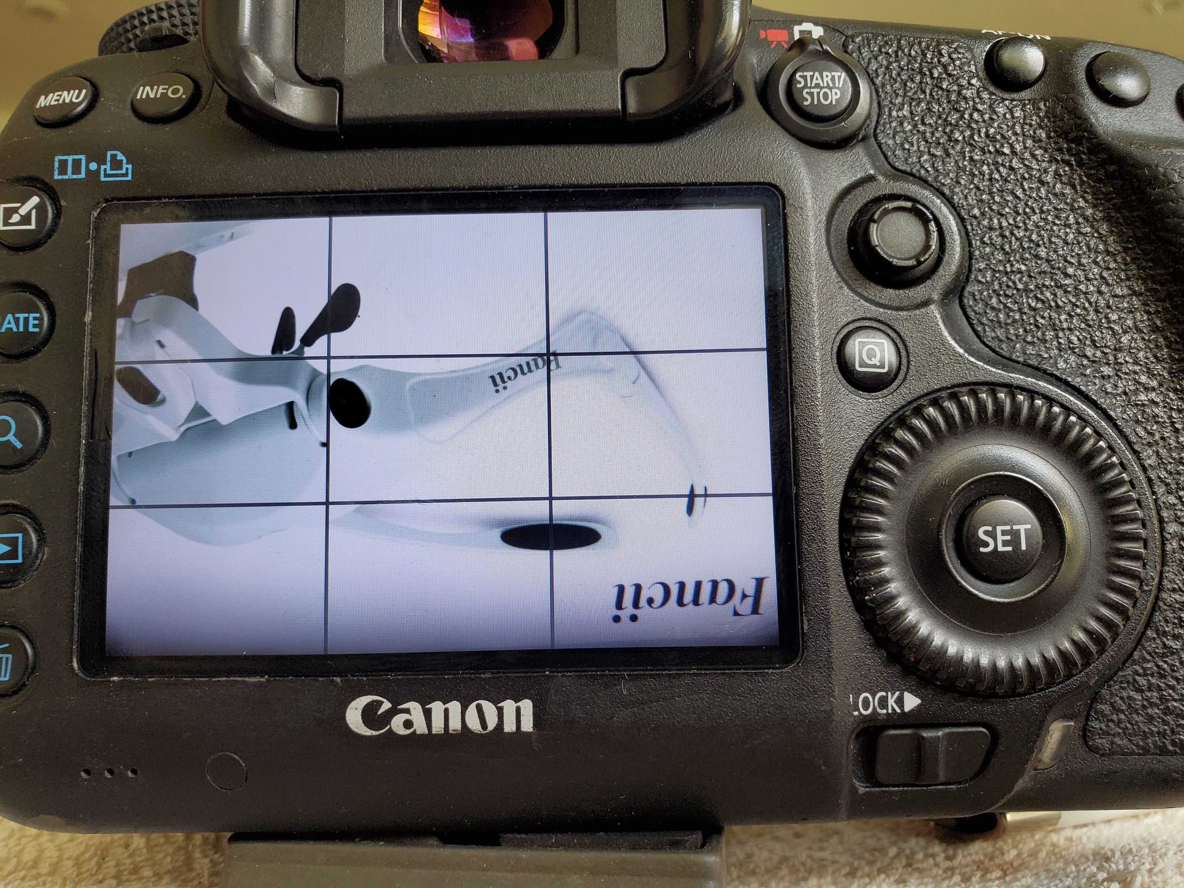 Image with banding when Shooting high speed