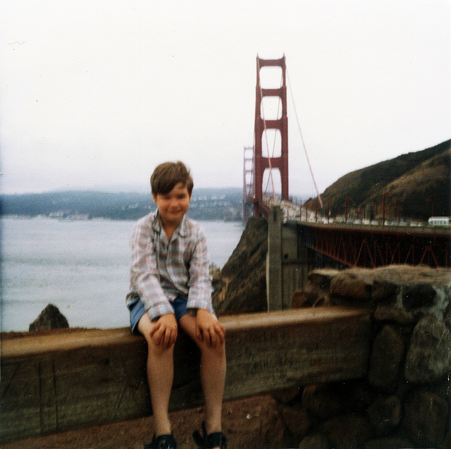 Then Me at the Golden Gate