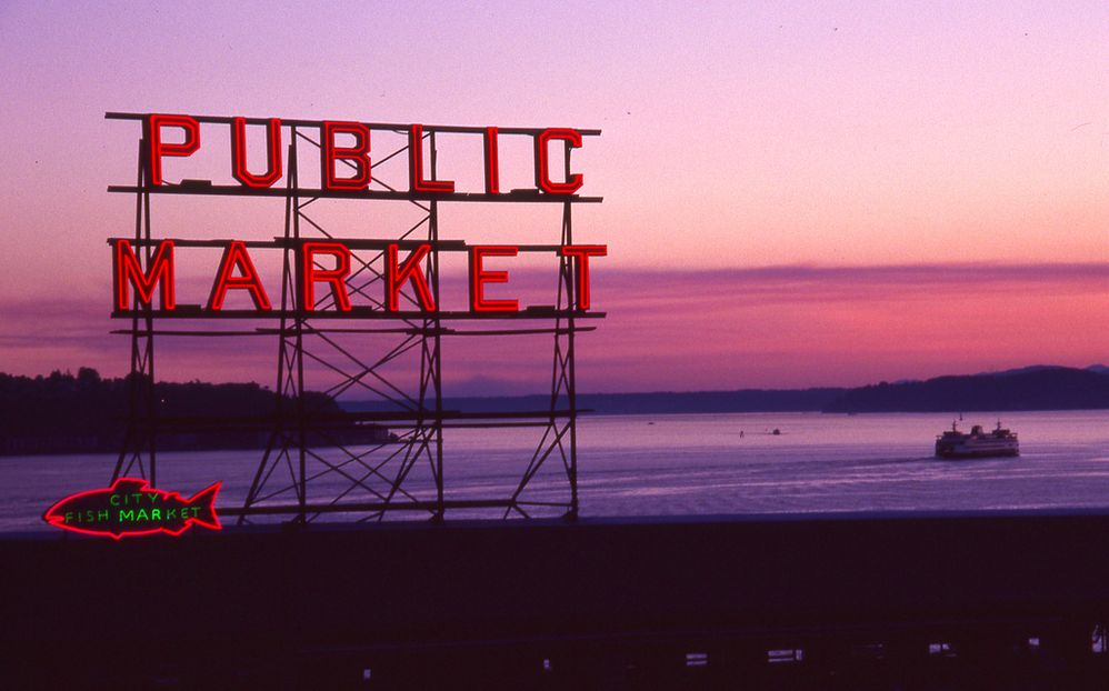 Sunset at the Public Market