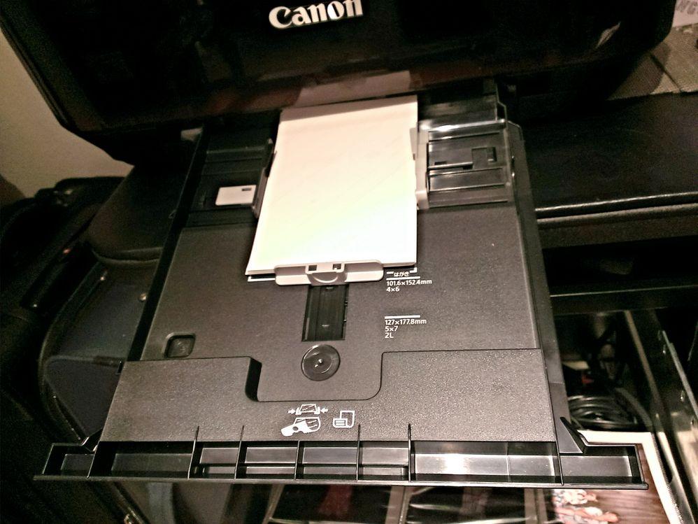 photo paper tray