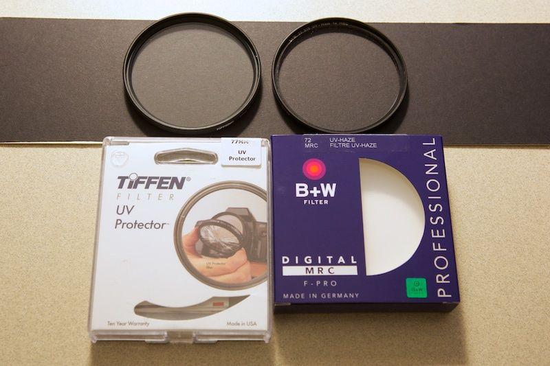 UV filters & anti-reflective coatings