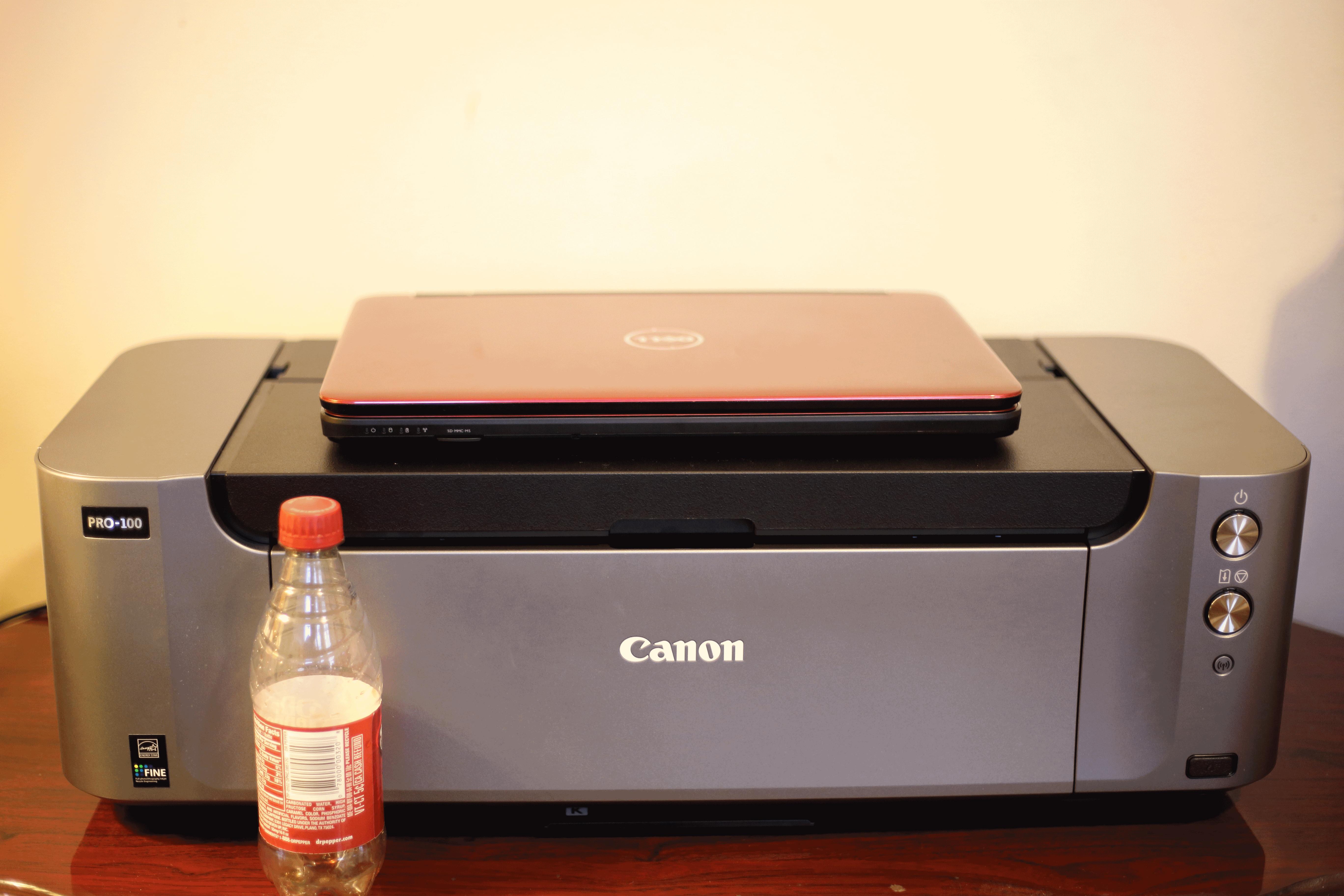 Pro-100, 20 oz bottle, 17 inch Laptop