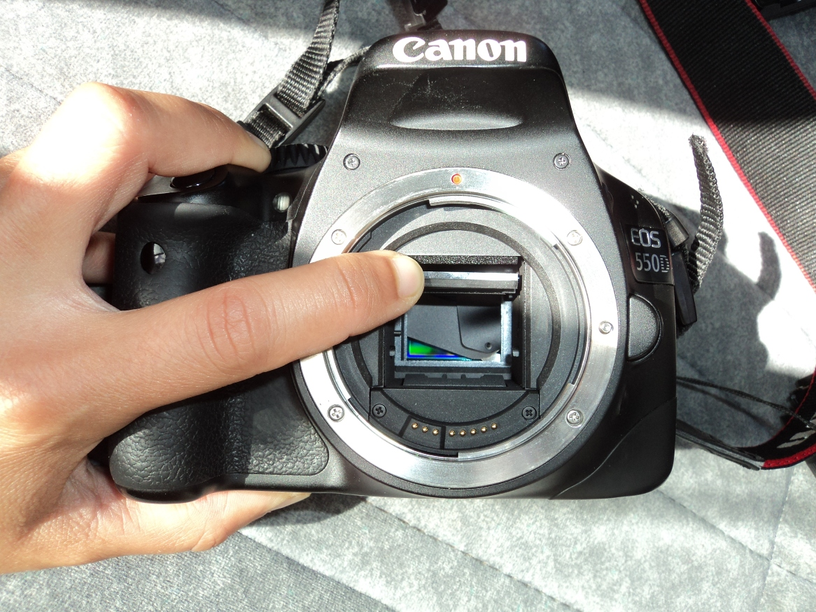 how to turn down gain canon 700d