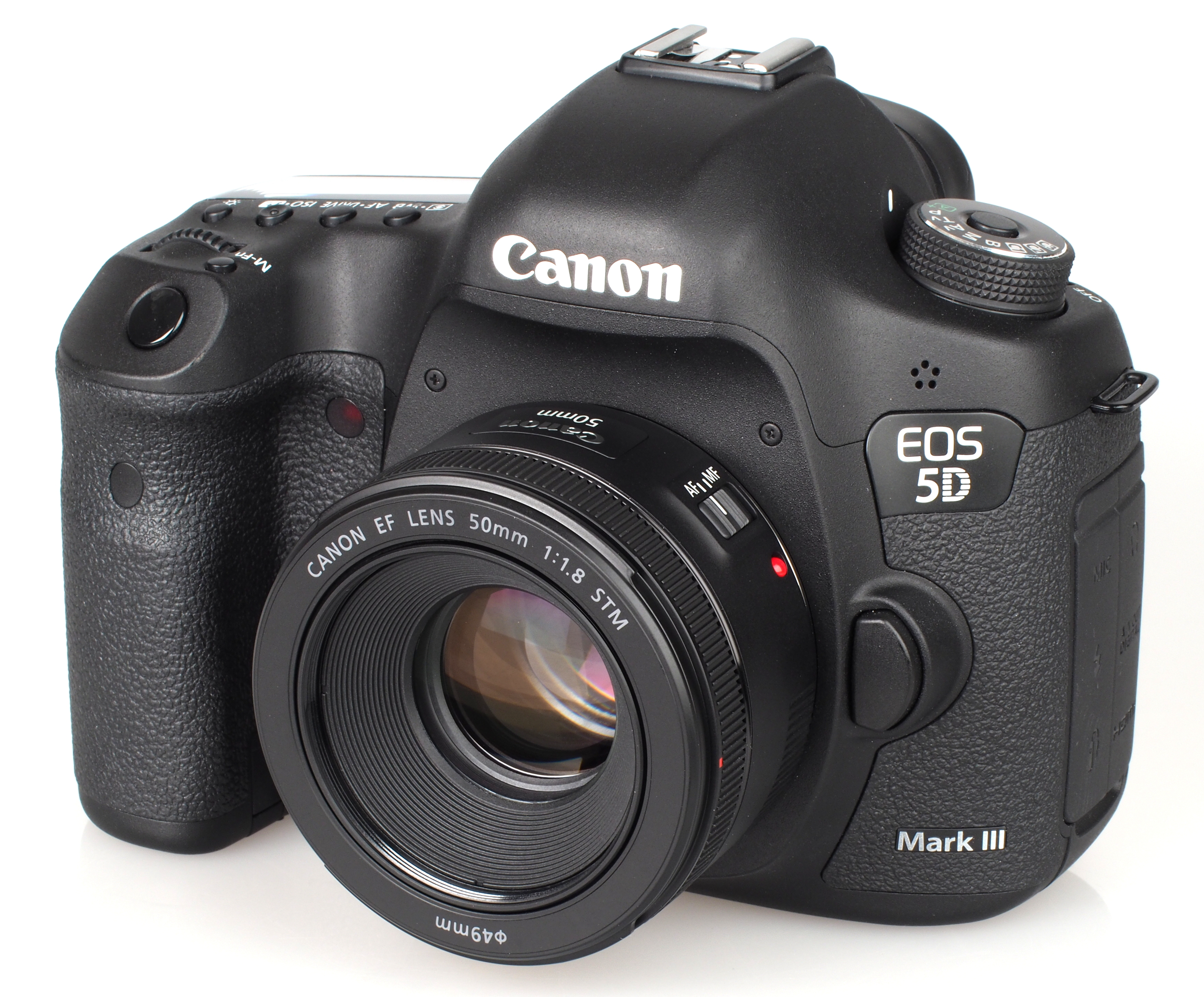 Can the canon ef 50mm f1 8 ii be used with the can for Canon 5d mark i